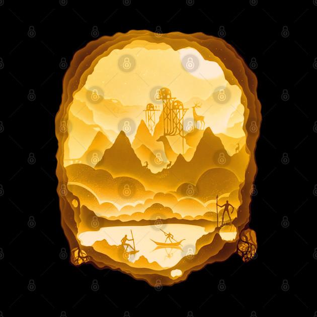 Golden Silhouette 21