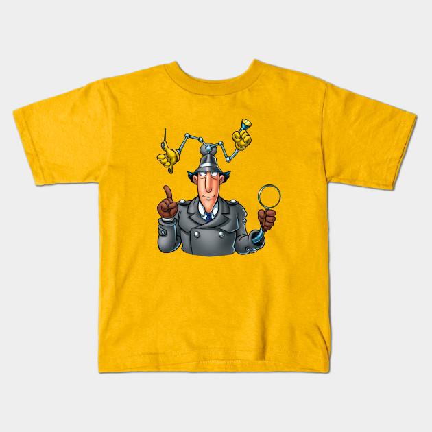 ca16e2f9d5f Inspector Gadget Kids T-Shirt