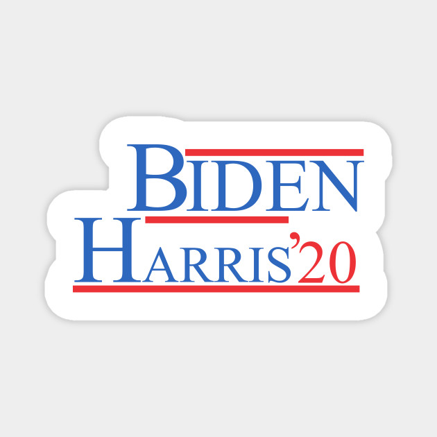 Joe Biden Kamala Harris 2020 Joe Biden Kamala Harris 2020 Magnet Teepublic