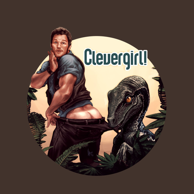 Clever Girl: Clever Girl! - Jurassic World - T-Shirt