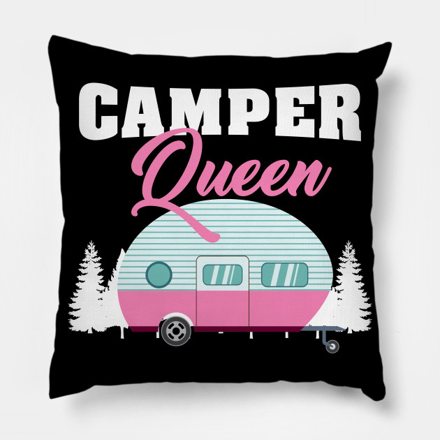 Camper Queen - Funny Camping Gifts for Girls and Women