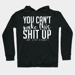 Be What You Are Slogan Full Zip Hoodie Philosopy Quote