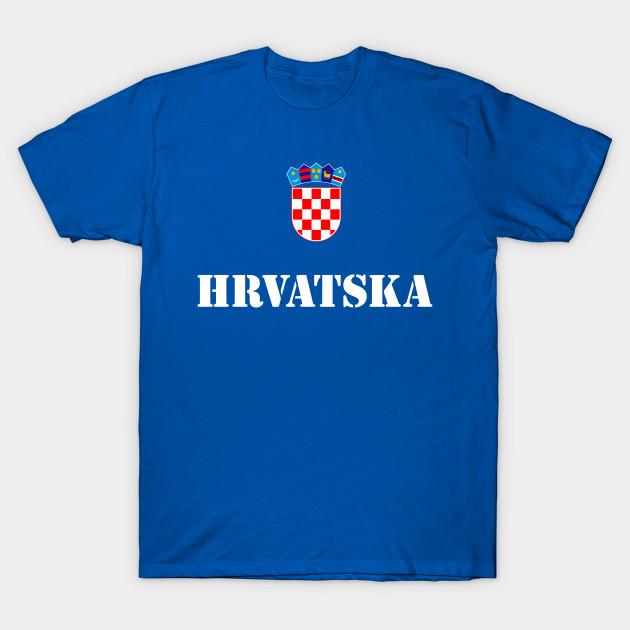 c141de31b Croatia Hrvatska Soccer Croatian Football - Croatian Soccer - T ...
