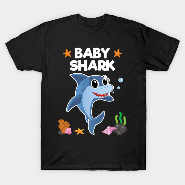 Cute Baby Gift Water Baby On Fish Cute Toddler Clothes Boy Or Girl T-Shirts