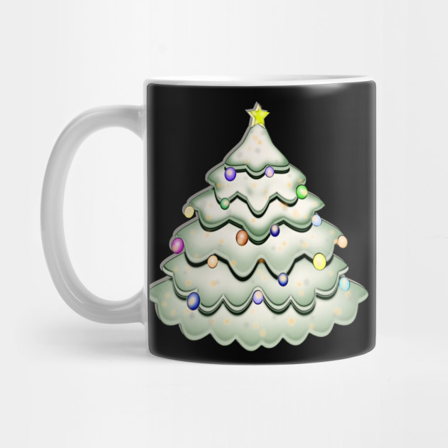 decorated Christmas tree, Christmas tree, Christmas Mug