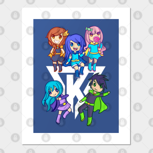 Funneh Roblox Posters And Art Prints Teepublic - funneh and the krew roblox games