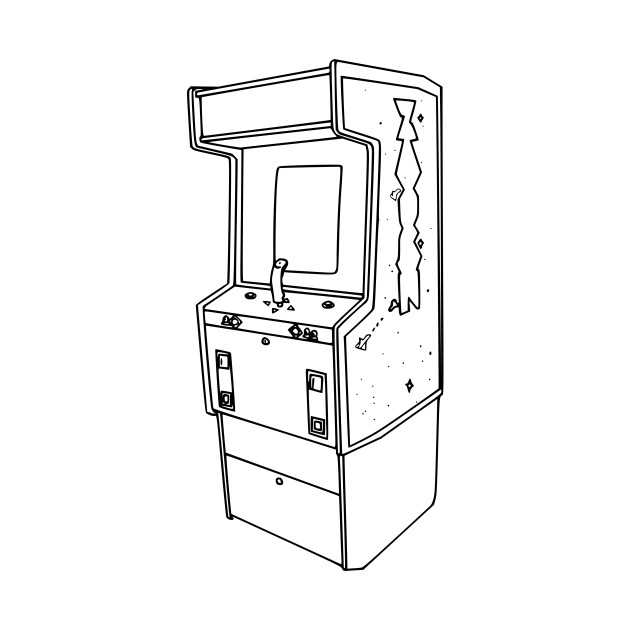 Upright 80s Sega Arcade Cabinet
