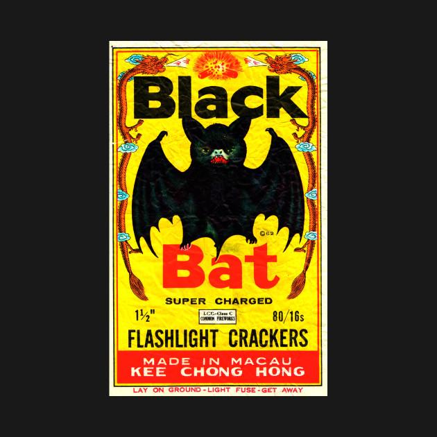 Black Bat Vintage Firecrackers
