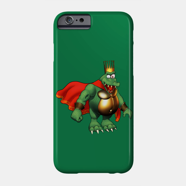 Donkey Kong Country characters iphone case