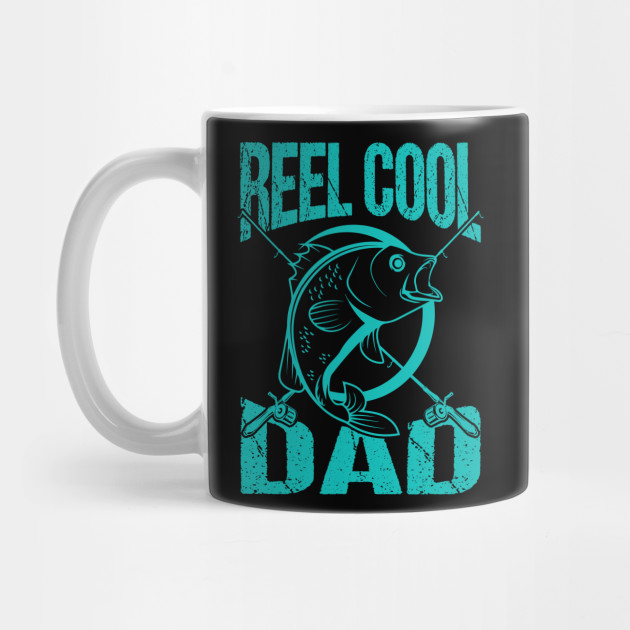 Father's Day Really Cool Fishing Dad Gift Mug