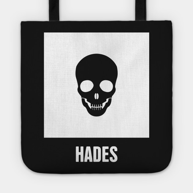 Hades Greek Mythology God Symbol Greek Mythology Tote Teepublic