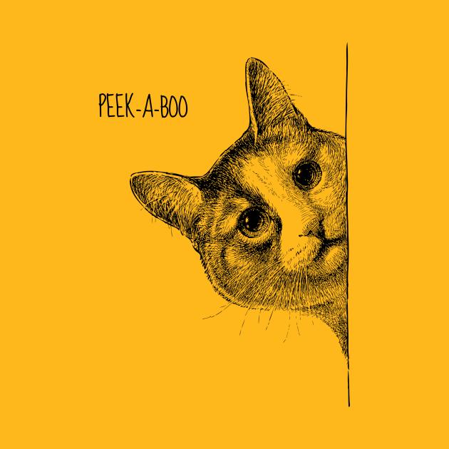 Cat - Peek-a-boo