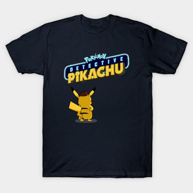 ad459058 Detective Pikachu - Pokemon - T-Shirt | TeePublic