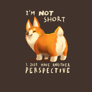Diferent perspective t-shirts