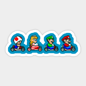 Mario Kart 8 Stickers | TeePublic