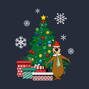 Yogi Bear Around The Christmas Tree T-Shirt