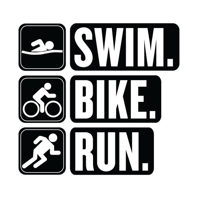 a965c177 Swim Bike Run Shirt design 2 - Health - Kids T-Shirt | TeePublic