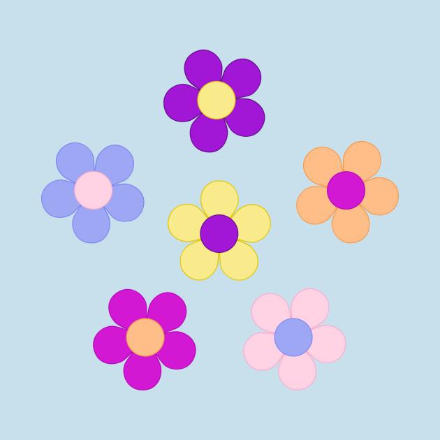 flower power design flower power t shirt teepublic. Black Bedroom Furniture Sets. Home Design Ideas