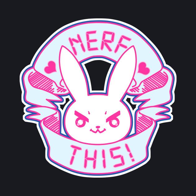 D.Va Inspired Bunny - NERF THIS