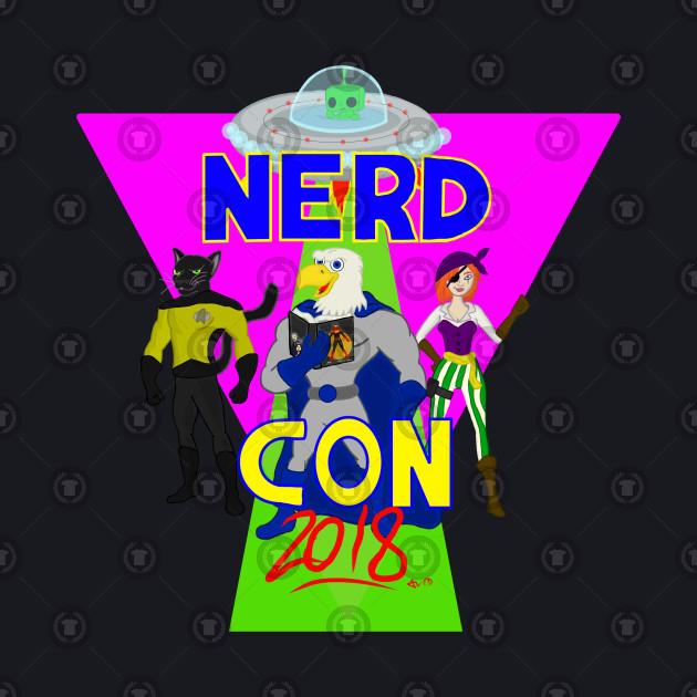 Nerd Con (pink)