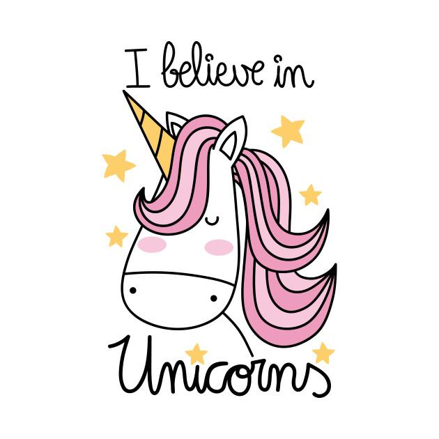 Believe In Unicorns: I Believe In Unicorns - Unicorns - T-Shirt