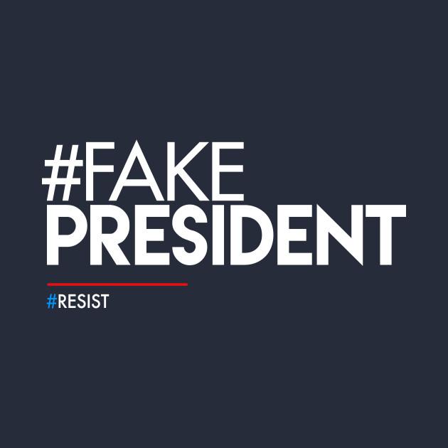 Fake President Hashtag