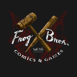 Frog Bros. Comics t-shirts