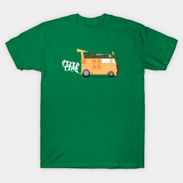 best place for complimentary shipping search for genuine Pizza Time! Teenage Mutant Ninja Turtle Shirt