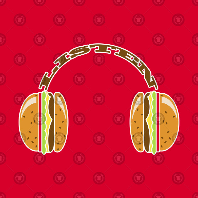 I LISTEN TO FOOD