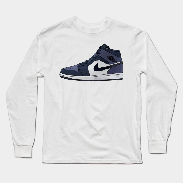 Air Jordan 1 Mid Sanded Purple