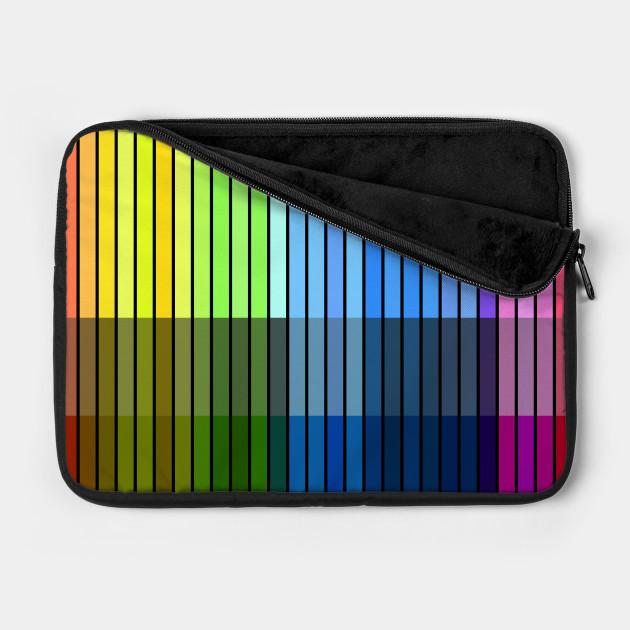 Colour Lines Vertical