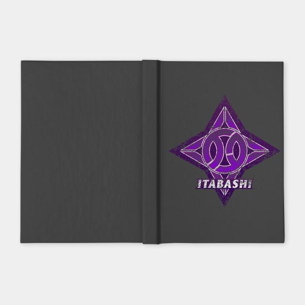 Itabashi Ward of Tokyo Japanese Symbol Distressed