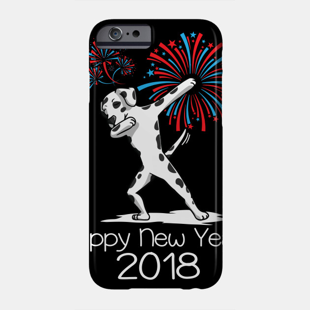 621617530c Dabbing Dog New Years shirt 2018 Funny Dalmatian Dancing Tee Phone Case