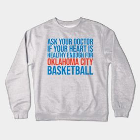 best sneakers 5eb9f 49180 Oklahoma City Thunder Crewneck Sweatshirts | TeePublic