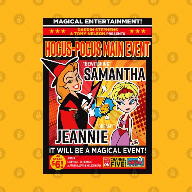Battle Samantha vs Jeannie Magic Event