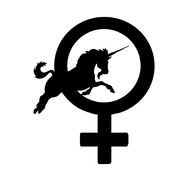 Female Symbol Unicorn Venus T Shirt Teepublic