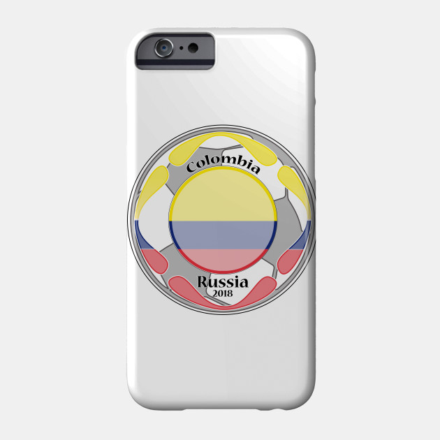 64f73f05d63 amazing t-shirt football flag country unisex colombia tee shirt Phone Case