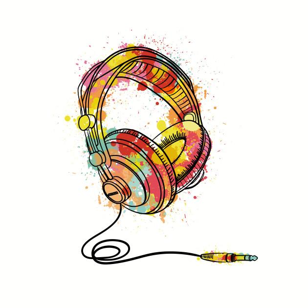 Colour Splash Headphones