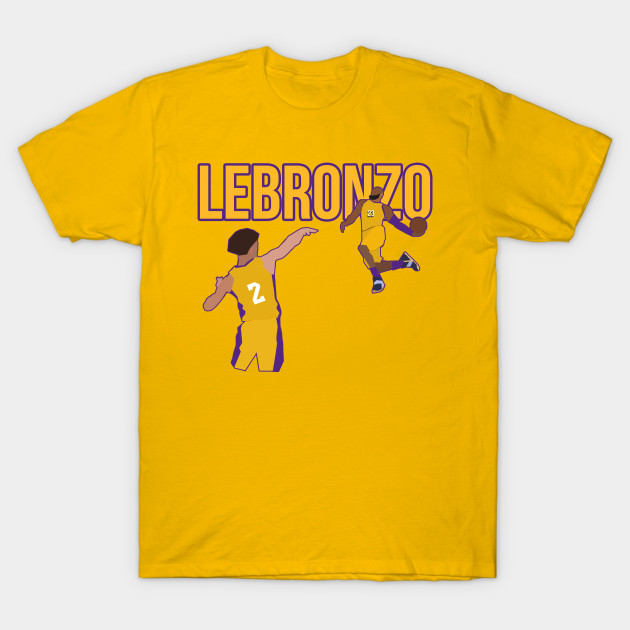 the best attitude abcd0 5fa22 Lebron James + Lonzo Ball - LeBronzo