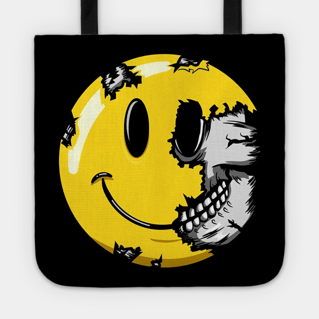 Smiley Face Skull Smile Skelet...