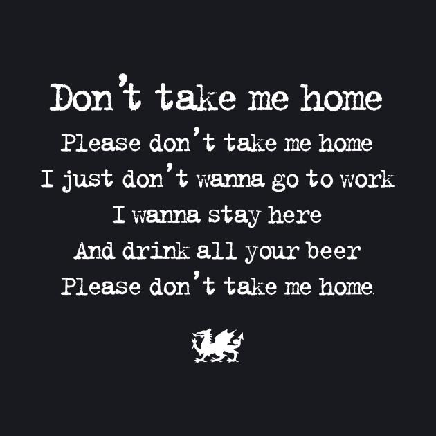 Wales Euro 2016 Football — Don't Take Me Home