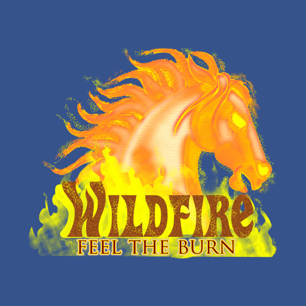73cf7e6ffdb0 Wildfire - Feel The Burn - Wild Horse - Onesie