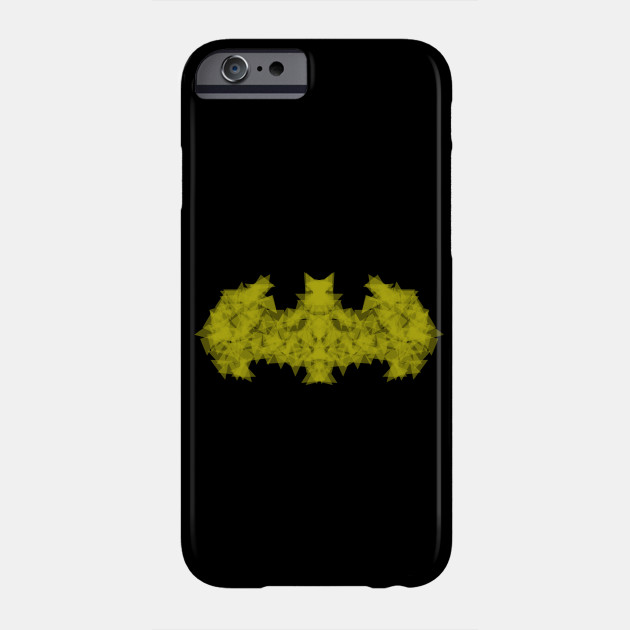 The Dark Origami Knight Batman Phone Case Teepublic