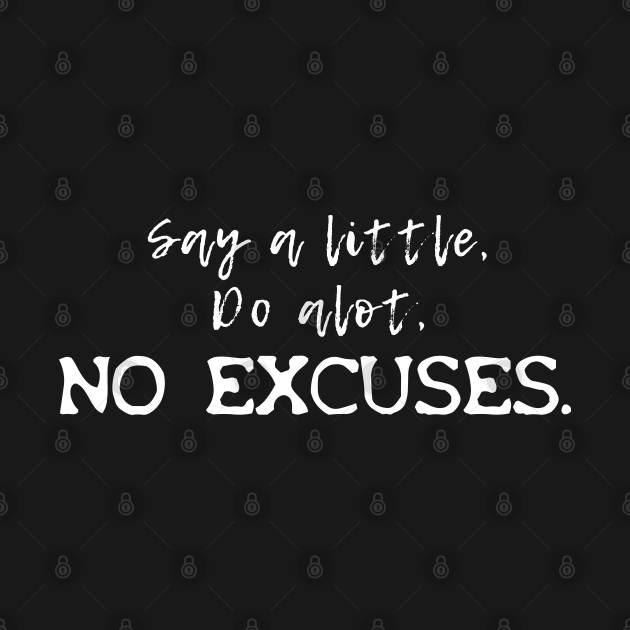 NF No Excuses