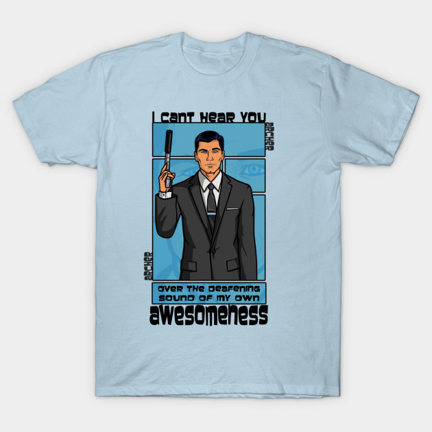 Archer Awesomeness Sterling Archer T Shirt Teepublic