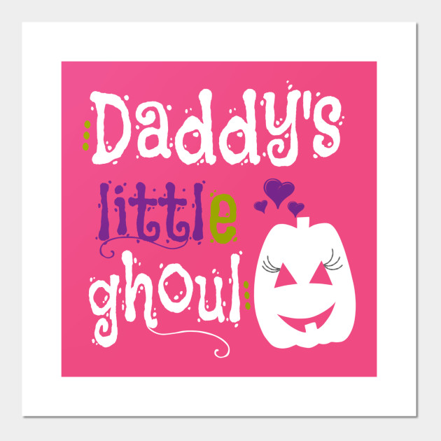 Daddy's Little Ghoul Cute Halloween