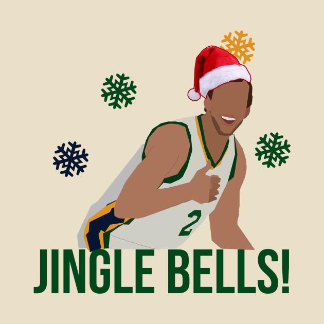 Joe Ingles 'Jingle Bells' Christmas Apparel - Utah Jazz NBA