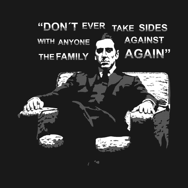 Michael Corleone (with Quote) T-Shirt