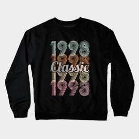 1998 Classic 21 Years Old Birthday Crewneck Sweatshirt