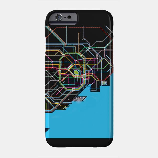 Subway Map Phone.Tokyo Subway Map